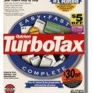 1998 TurboTax Federal basic 1998 Windows Turbo Tax Intuit Turbo Tax