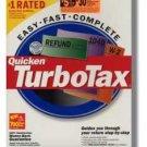 2001 TurboTax Federal basic 2001 Windows Turbo Tax Intuit Turbo Tax