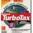 TurboTax Premier 2001 Federal Returns Home & Business Turbo Tax