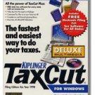 1999 TaxCut Standard Federal H&R Block Tax Cut