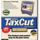 2000 TaxCut Standard Federal H&R Block Tax Cut