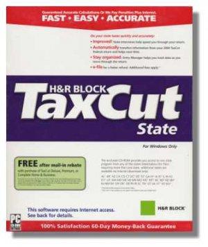 2008 TaxCut Standard state H&R Block Tax Cut