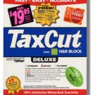 2002 TaxCut Deluxe Federal H&R Block Tax Cut