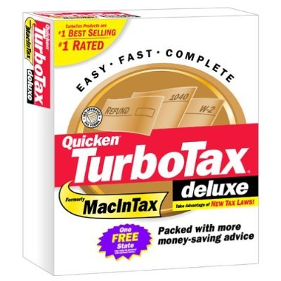 TurboTax Deluxe 2002 Federal Turbo Tax APPLE MAC VERSION