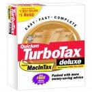 TurboTax Deluxe 1998 Federal Turbo Tax APPLE MAC VERSION