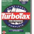TurboTax Business 1999 Federal Turbo Tax Corporations and Partnerships