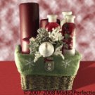 Cranberry Crush Spa Gift Basket