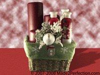Cranberry Crush Spa Gift Basket