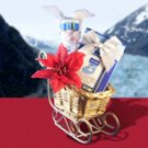 Peppermint Holiday Gift Basket