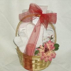 Japanese Cherry Blossom Spa Basket