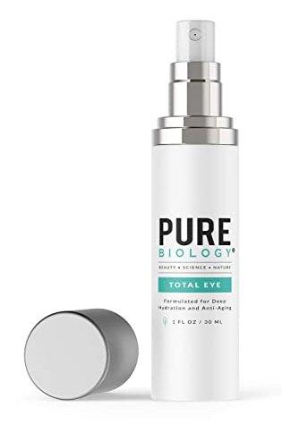 Premium Total Eye Cream Serum with Vitamin C + E, Hyaluronic Acid & Anti Aging Complexes