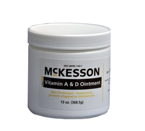 McKesson Vitamin A & D Skin Protectant Ointment