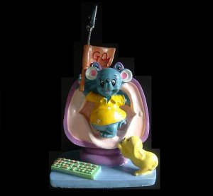 ROGER RAT OUT OF THE TV PICTURE PHOTOGRAPH HOLDER