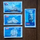 TALL SHIPS SAILING SHIPS IONIA 5gr SUGAR PACKETS NEW AND PERFECT