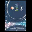 SLAVIA PRAGUE TOTTENHAM HOTSPURS UEFA CUP FOOTBALL PROGRAMME 2008