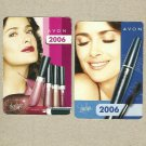 TWO AVON COSMETICS ADVERTISING UKRAINIAN LANGUAGE CALENDAR CARDS 2008