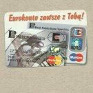 BANK POLSKA KASA OPIEKI 1997 CALENDAR CARD IN POLISH LANGUAGE