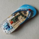CRETE GREECE GREEK SANDAL HOLIDAY FRIDGE MAGNET