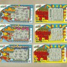 PHILIPPINES SIX LOTTERY TICKETS GO BANANAS and RED HOT 7's