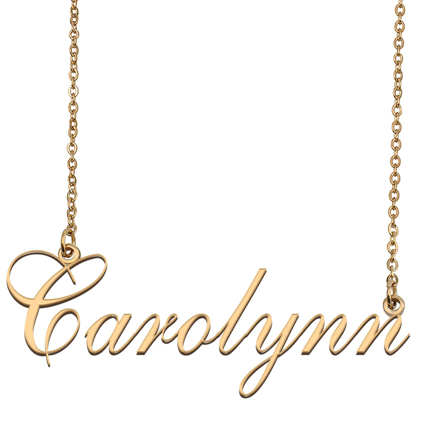 Custom Made Dainty My Name Necklace Best Friendship Jewelry Gifts for Her Carolynn