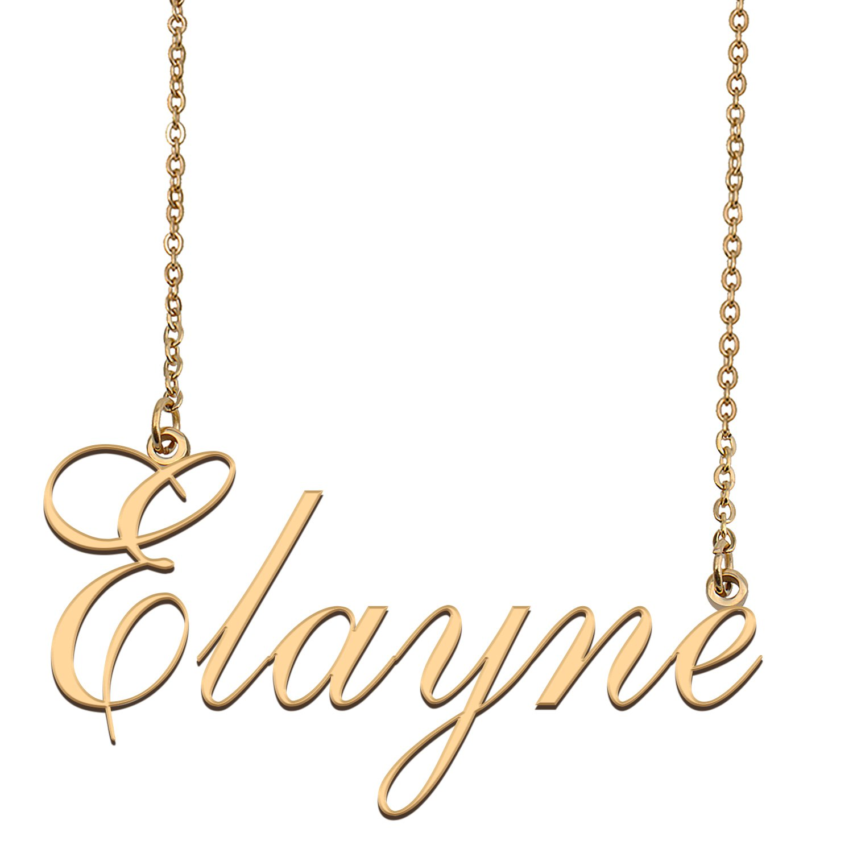 Custom Unique Charm Name Necklace Best Bridesmaid Jewelry ...