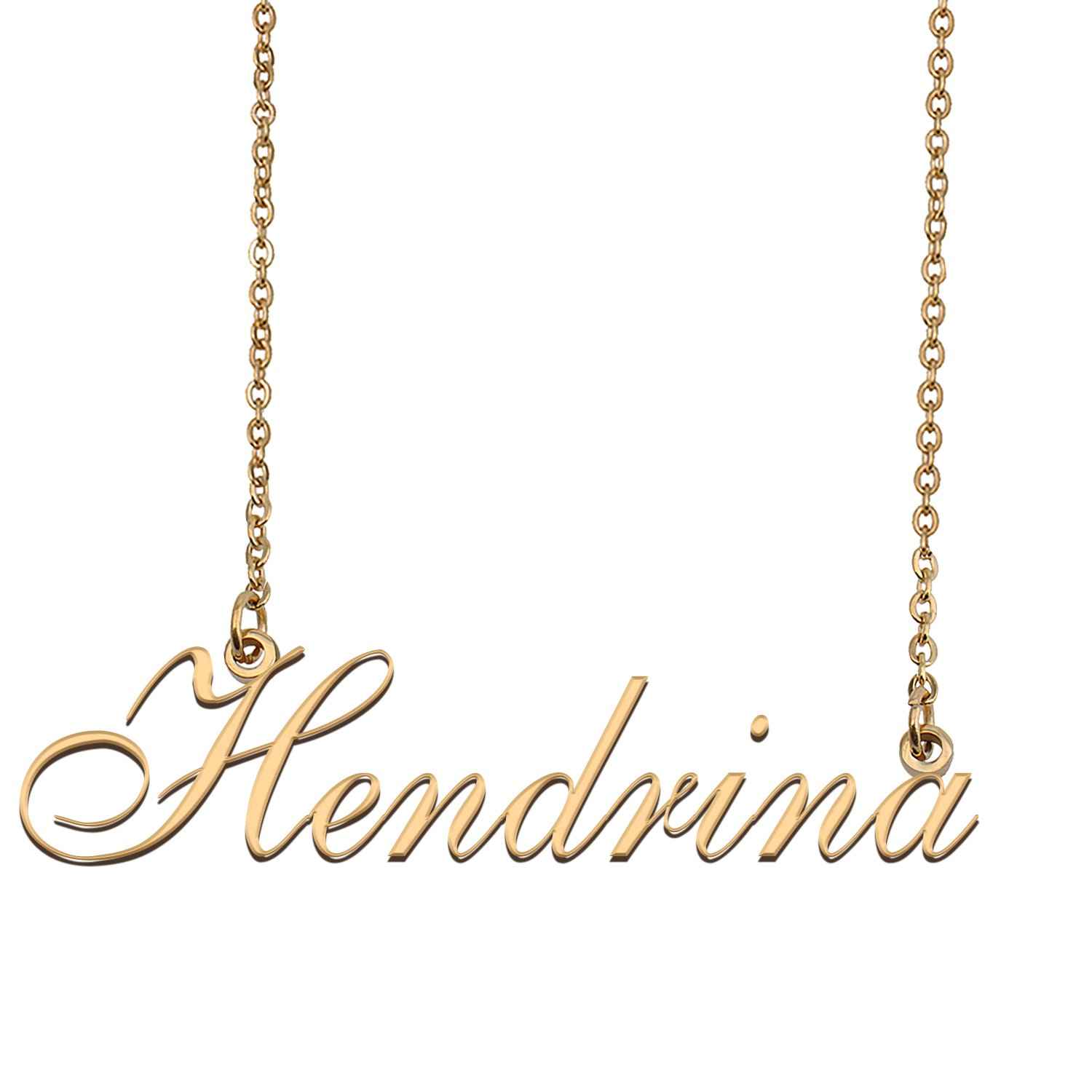 Personalized My Name Necklace Dainty personal Initial Necklace Hendrina