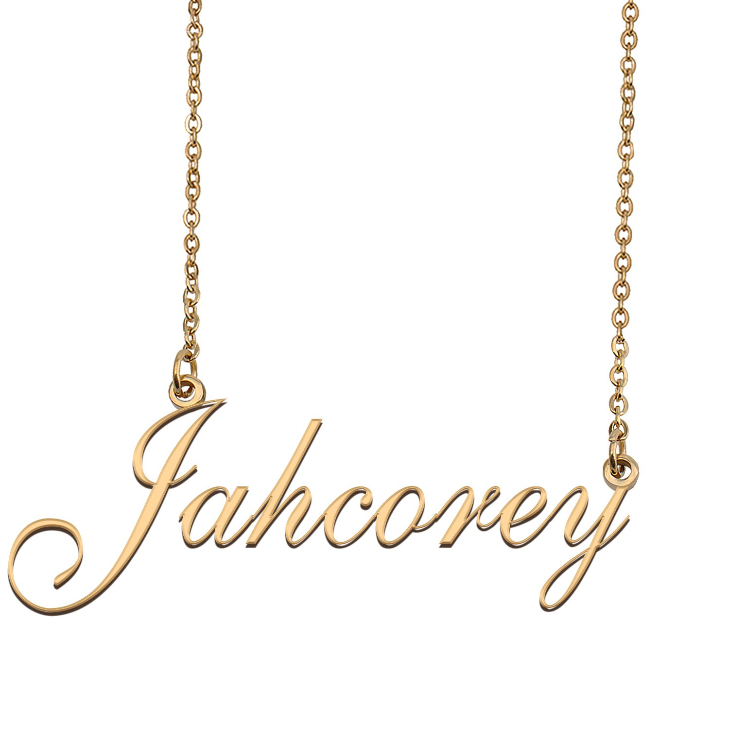 Personalized My Name Necklace Dainty personal Initial Necklace Jahcorey