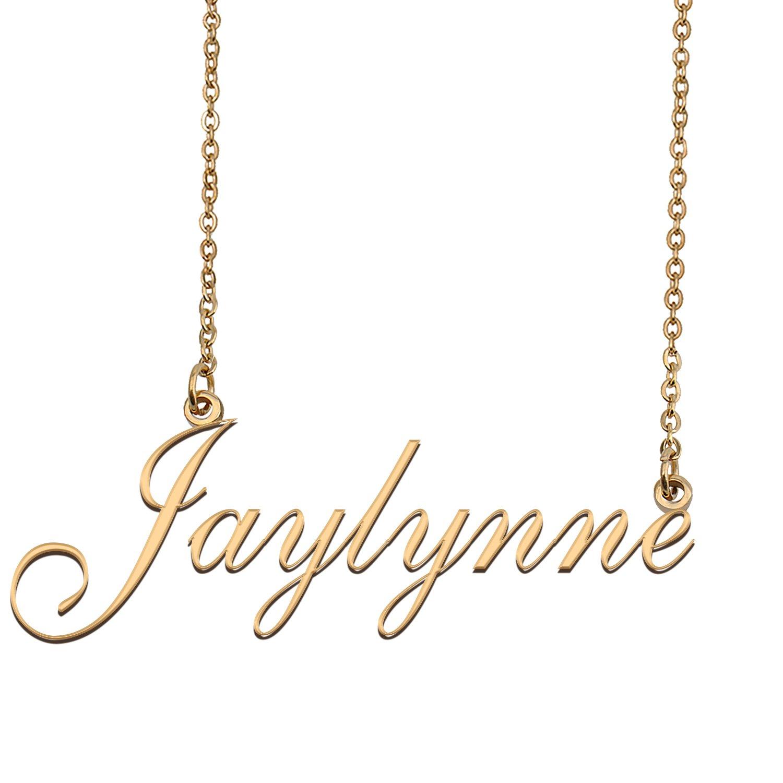 Customized Custom Script Name Necklace for Women Jaylynne