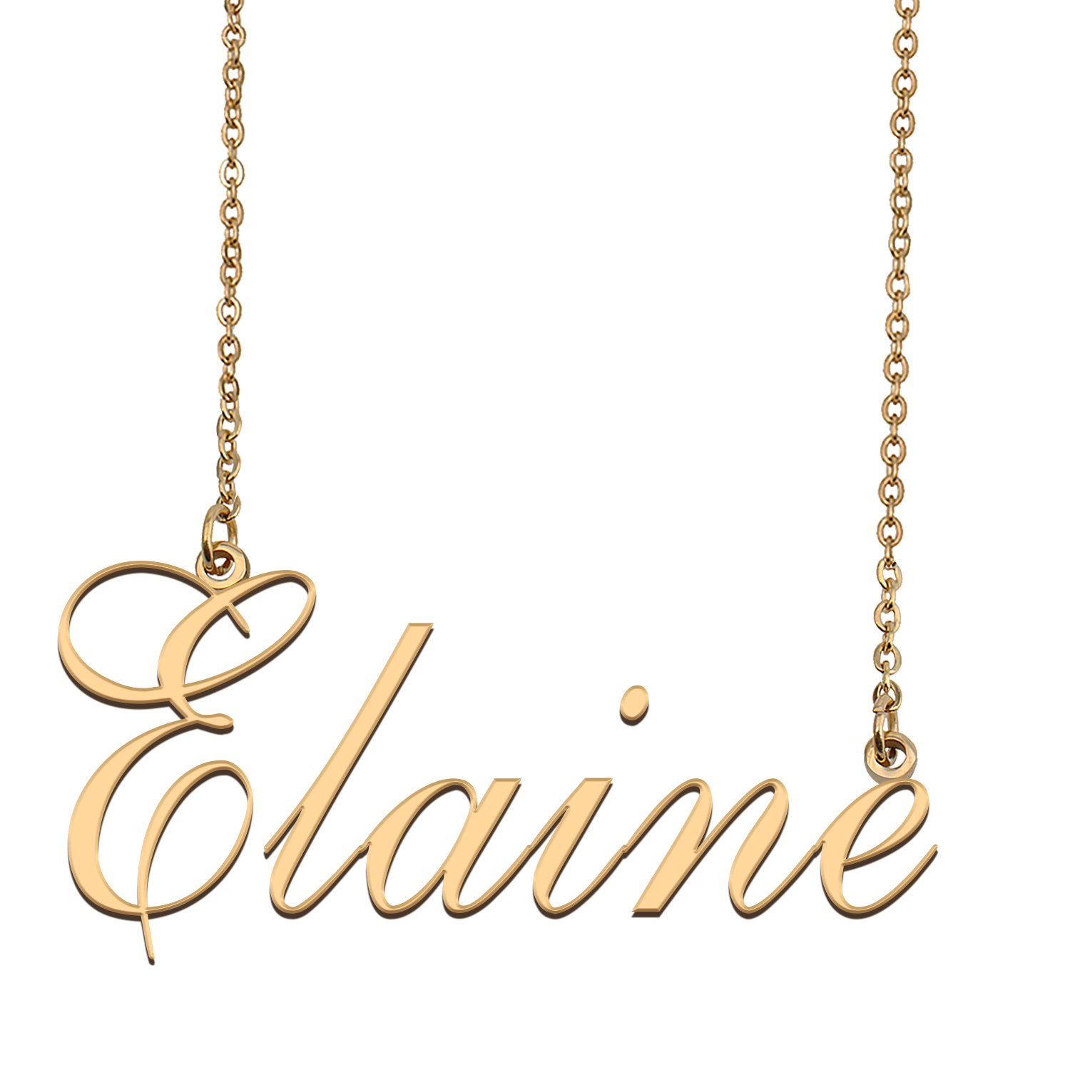 Customized Name Necklace 18K Gold Plated Jewelry Gift for Girlfriend for Her Karsyn