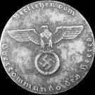 """German WWII iron Medal """"Für Verdienste um das Deutsche Hundewesen"""" (Worldwide FREE Shipping)"""