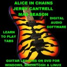 Alice In Chains Guitar TAB Lesson CD 533 TABS 34 BTs + MEGA BONUS Jerry Cantrell