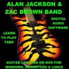 Alan Jackson Guitar TAB Lesson CD 379 TABS 67 BTs + MEGA BONUS Zac Brown Band