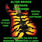 Alter Bridge 10 Years 12 Stones Guitar TAB Lesson CD 427 TABS 16 BTs + BONUS