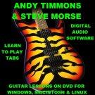 Andy Timmons Guitar TAB Lesson CD 117 TABS 38 Backing Tracks + BONUS Steve Morse