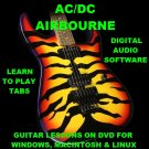 AC/DC Guitar TAB Lesson CD 1104 TABS 109 Backing Tracks + MEGA BONUS Airbourne