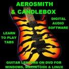Aerosmith Guitar TAB Lesson CD 788 TABS 73 Backing Tracks + BONUS Candlebox