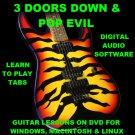 3 Doors Down Guitar TAB Lesson CD 299 TABS 20 Backing Tracks + BONUS Pop Evil