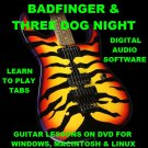 Badfinger Guitar TAB Lesson CD 130 TABS 19 Backing Tracks BONUS Three Dog Night