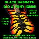 Black Sabbath Guitar TAB Lesson CD 837 TABS 93 BTs + MEGA BONUS DIO Tony Iommi