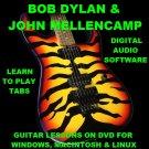 Bob Dylan John Mellencamp Guitar TAB Lesson CD 792 TABS 33 BTs + MEGA BONUS