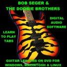 Bob Seger Guitar TAB Lesson CD 167 TABS 46 BTs + MEGA BONUS The Doobie Brothers