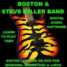 Boston Guitar TAB Lesson CD 267 TABS 21 BTs + MEGA BONUS Steve Miller Band
