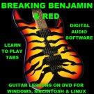 Breaking Benjamin Guitar TAB Lesson CD 413 TABS 25 Backing Tracks + BONUS RED