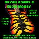 Bryan Adams Guitar TAB Lesson CD 420 TABS 51 Backing Tracks + BONUS Eddie Money