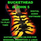 Buckethead Guitar TAB Lesson CD 1030 TABS 52 Backing Tracks + MEGA BONUS John 5