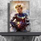 Avengers Endgame, Captain Marvel, Brie Larson, Digital Download, Print, Poster