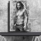 Aquaman, Jason Momoa, Digital Download, Print, Poster, Art, Watercolor, Painting