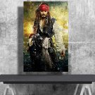 Captain Jack Sparrow, Johnny Depp, Pirates of the Caribbean, Digital Download, Print, Poster, Art