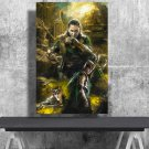 Loki, Thor Ragnarok, Tom Hiddleston, Digital Download, Print, Poster, Art, Watercolor, Painting