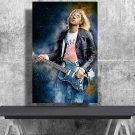 Kurt Cobain, Nirvana, Digital Download, Print, Poster, Art, Watercolor, Painting